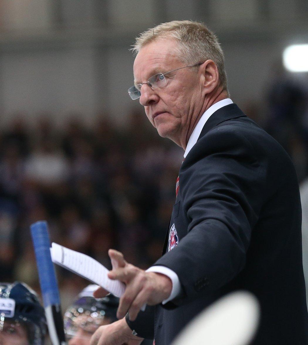 Kari Jalonen, nový hlavní kouč hokejistů Lva Praha