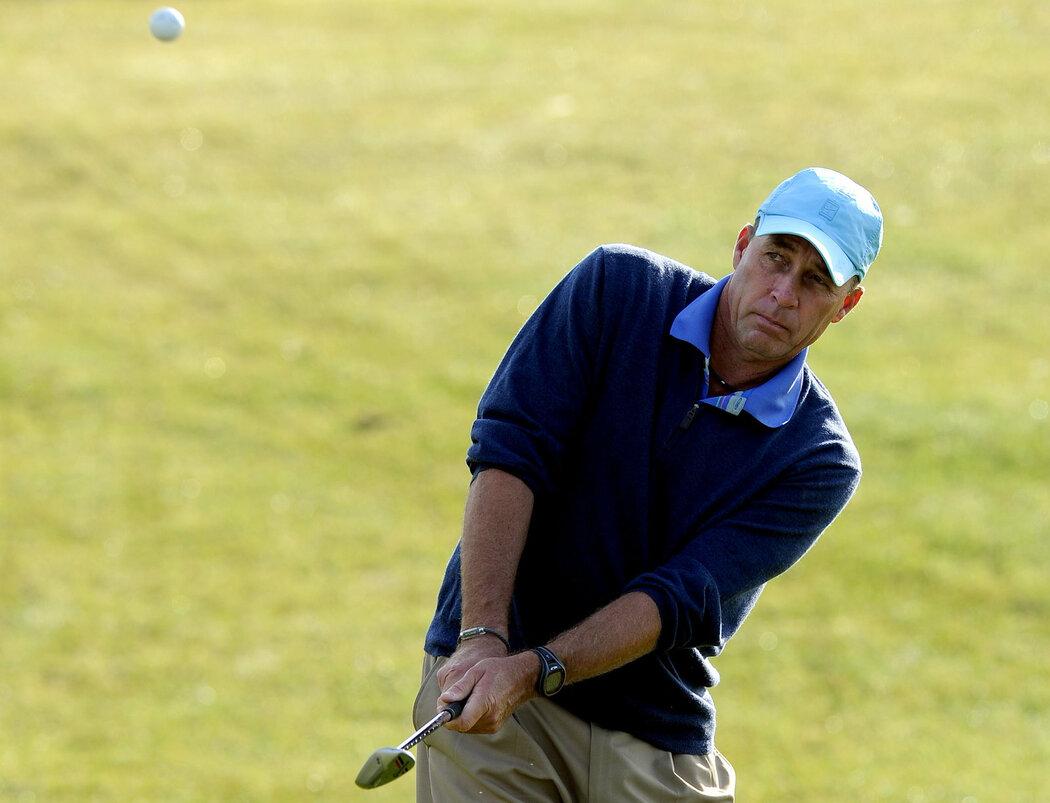 Legendární tenista Ivan Lendl je nadšeným golfistou