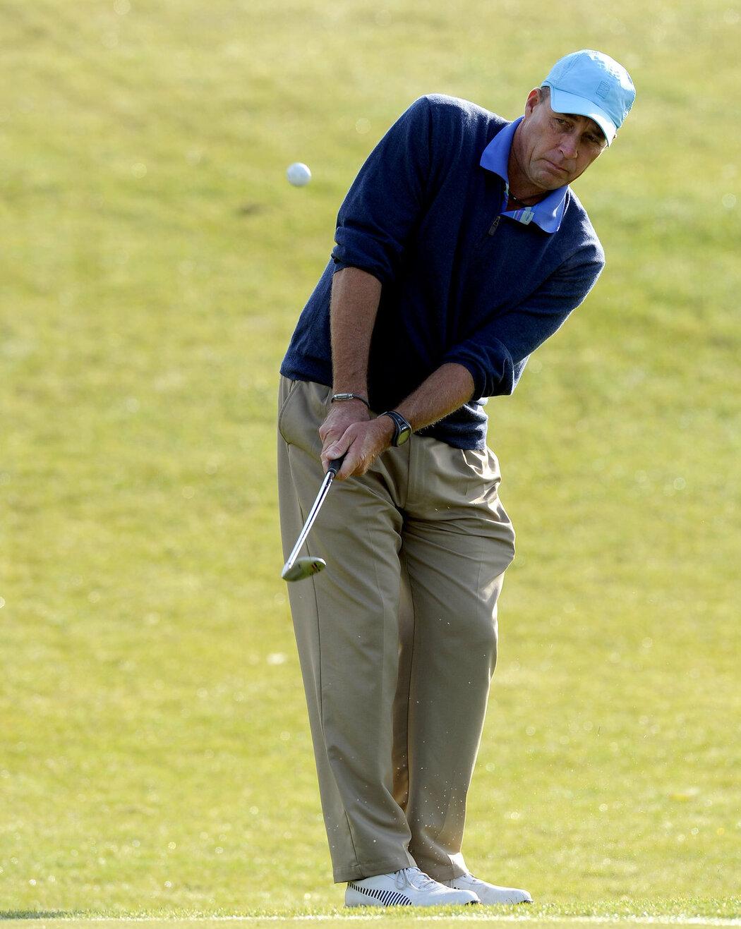 Ivan Lendl stejně jako jeho dcery rád hraje golf