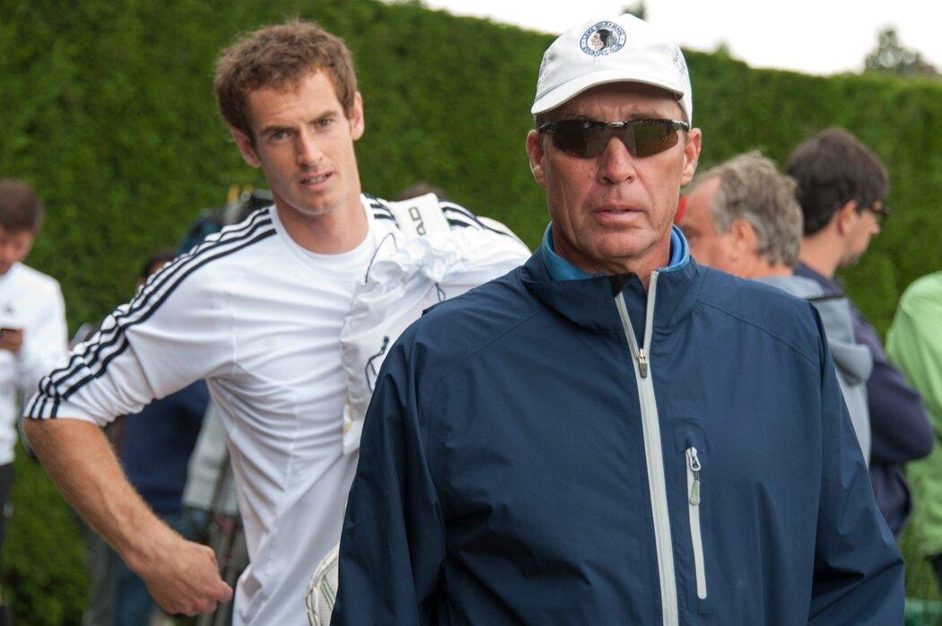 Trenér Ivan Lendl dovedl Andyho Murrayho k největším úspěchům jeho kariéry