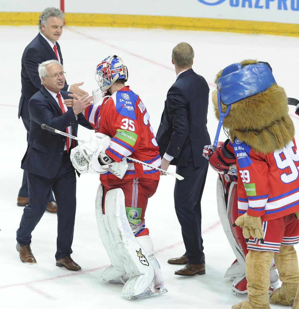 GALERIE: Jak Jediný český Tým V KHL Slavil Postup Do