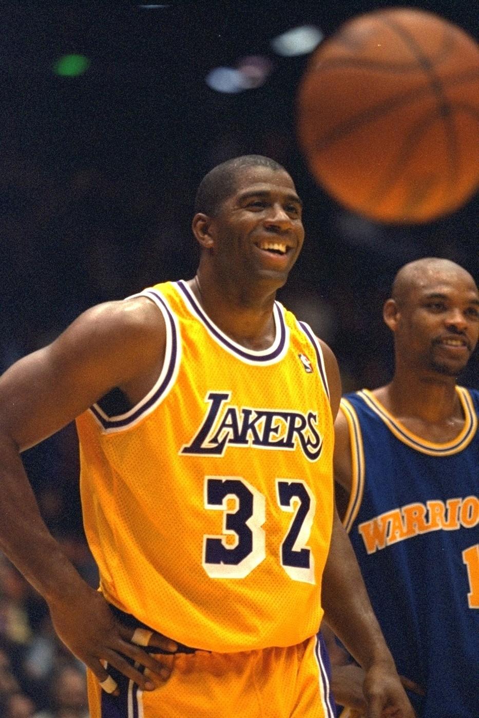 Magic Johnson patří mezi nejúspěšnější basketbalisty historie