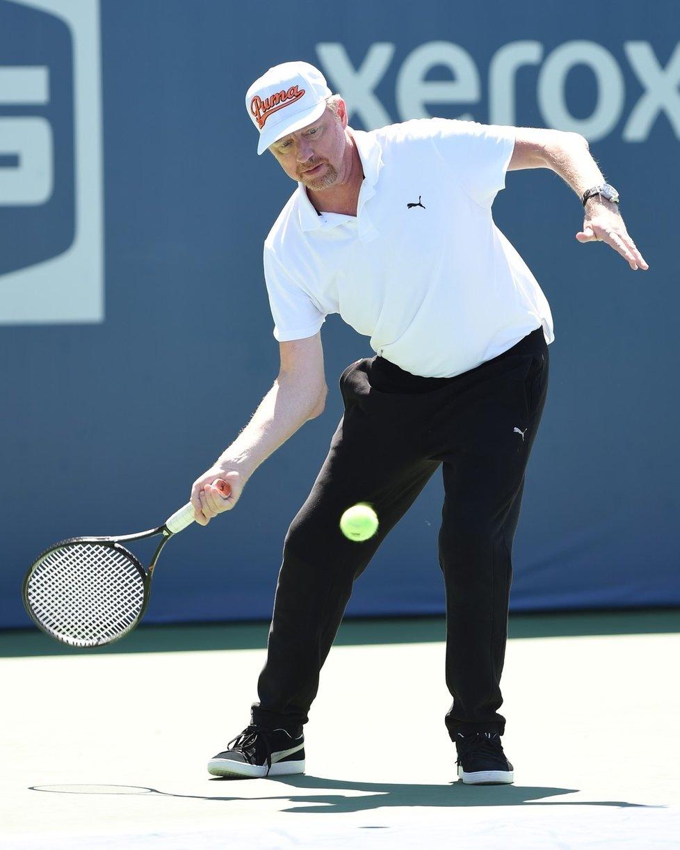 Boris Becker tenis stále ovládá