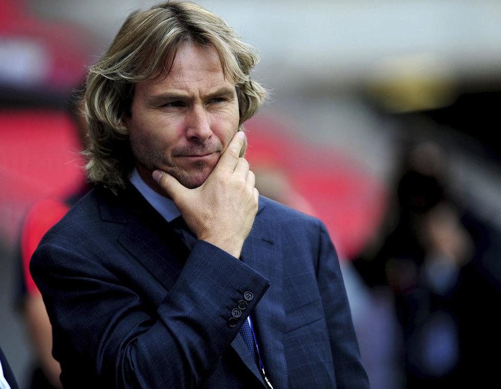 Viceprezident Juventusu Turín Pavel Nedvěd
