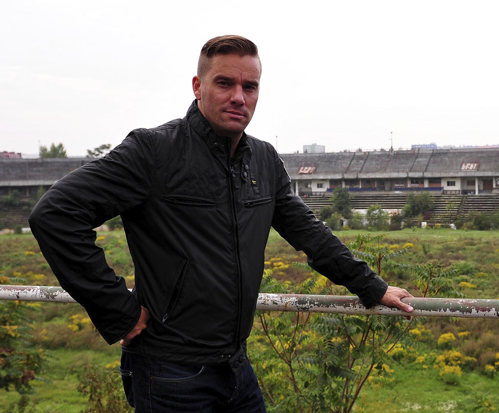 Bývalý fotbalista Petr Švancara