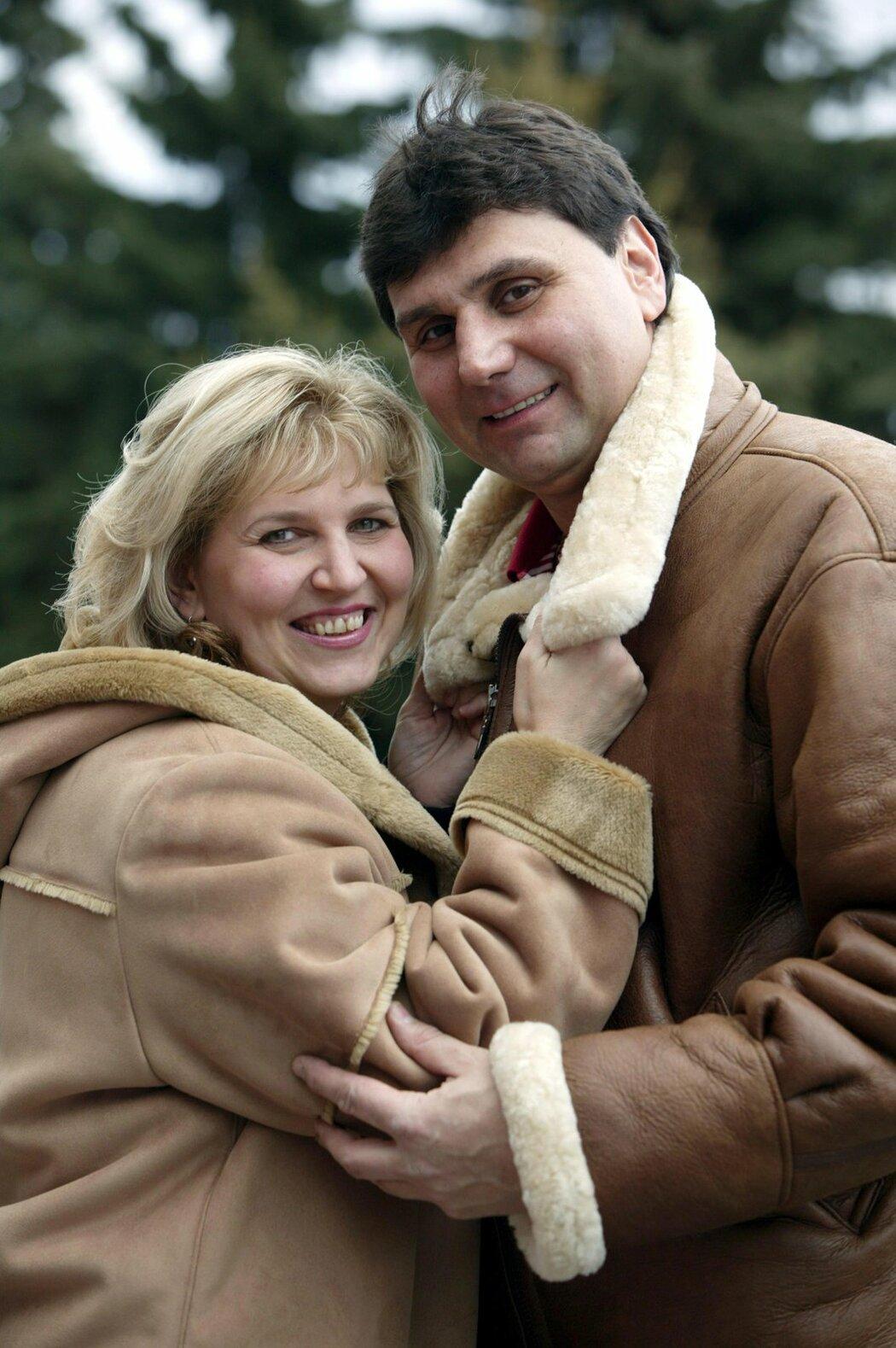 Vladimír Růžička a jeho manželka Eva