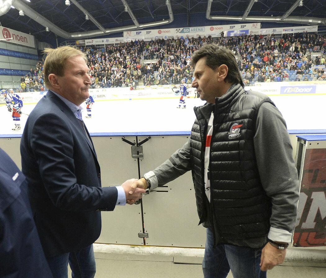 Alois Hadamczik a Vladimír Růžička