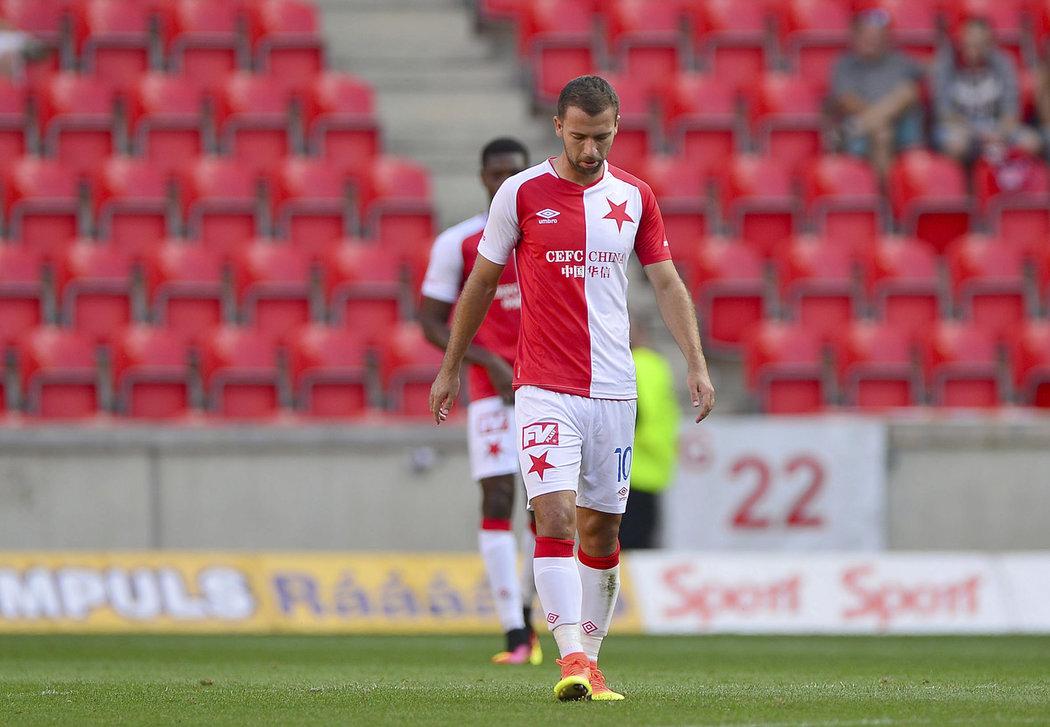 Josef Hušbauer po inkasovaném gólu