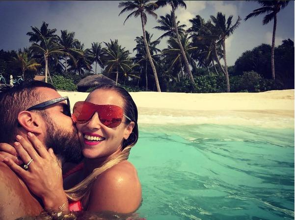 Dominika Cibulková si užívá dovolenou s manželem Michalem Navarou