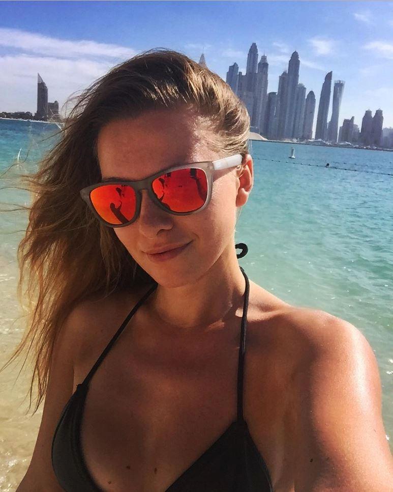 Inna dovolenkovala v Emirátech.