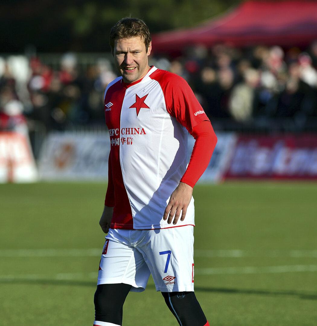 Karel Piták v Silvestrovském derby proti Spartě nasázel hattrick