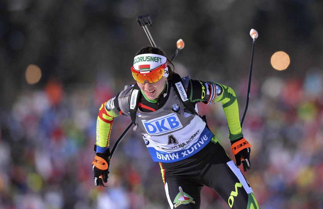 Darja Domračevová patří k biatlonovým legendám