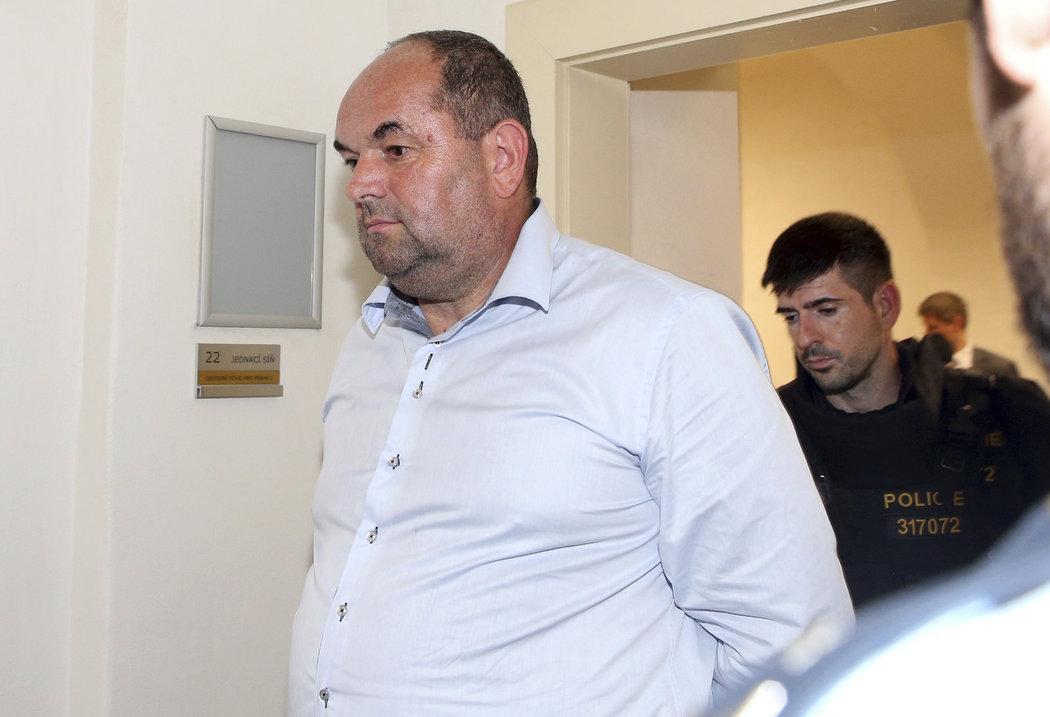 Miroslav Pelta u soudu.