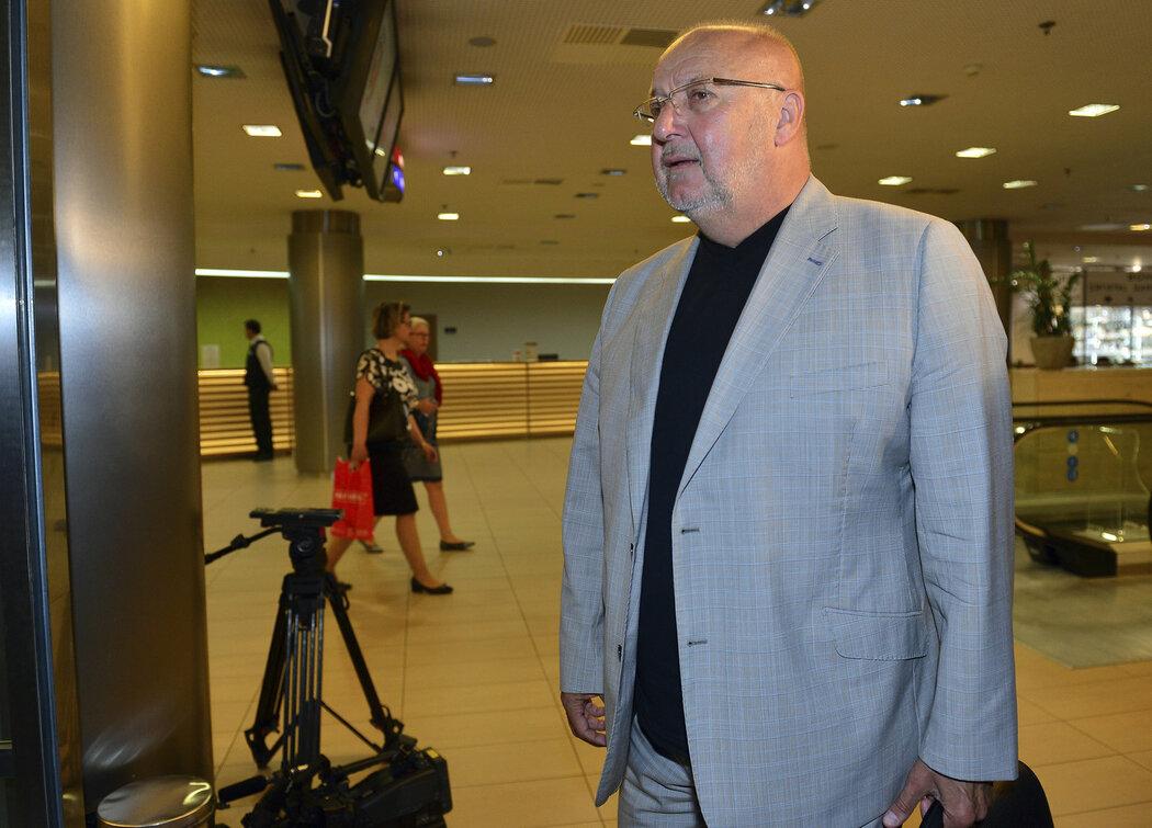 Šéf příbramského klubu Jaroslav Starka na valné hromadě FAČR