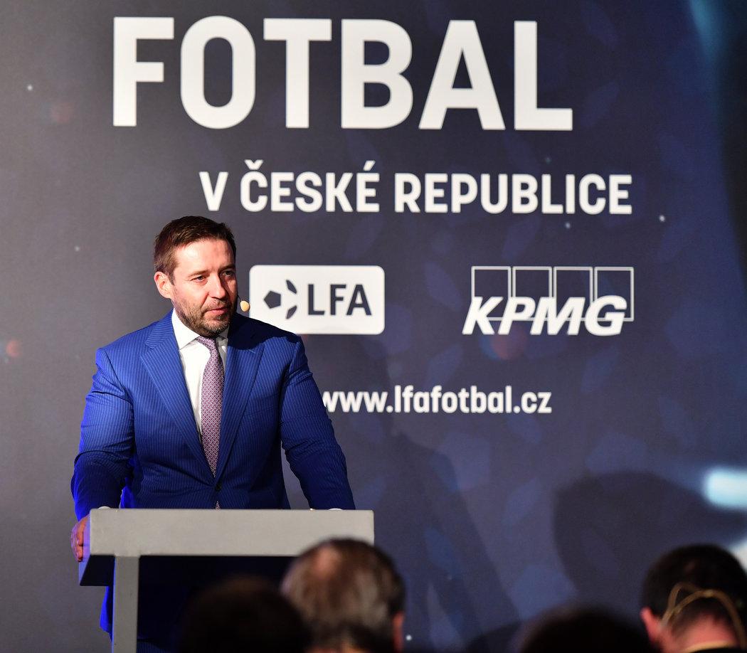 Šéf fotbalové ligy Dušan Svoboda