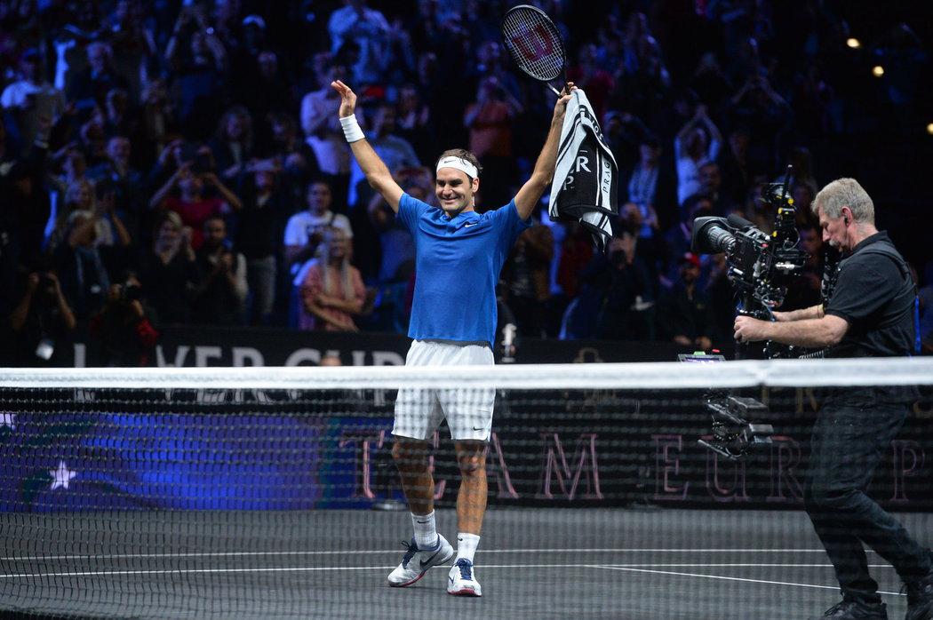 Okamžiky štěstí v podání Rogera Federera