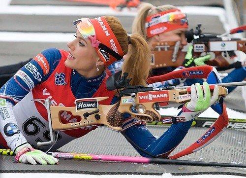Královna českého biatlonu Gabriela Koukalová stále netrénuje naplno