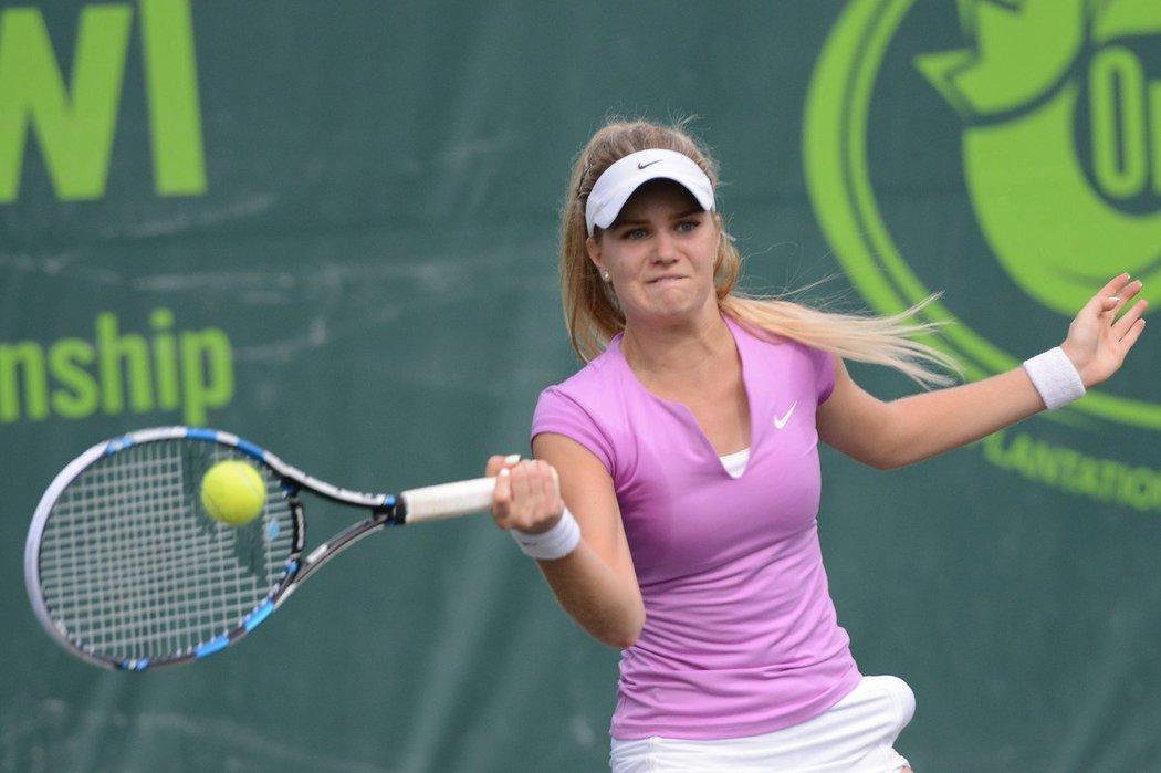 Monika Kilnarová patří k velkým nadějím českého tenisu