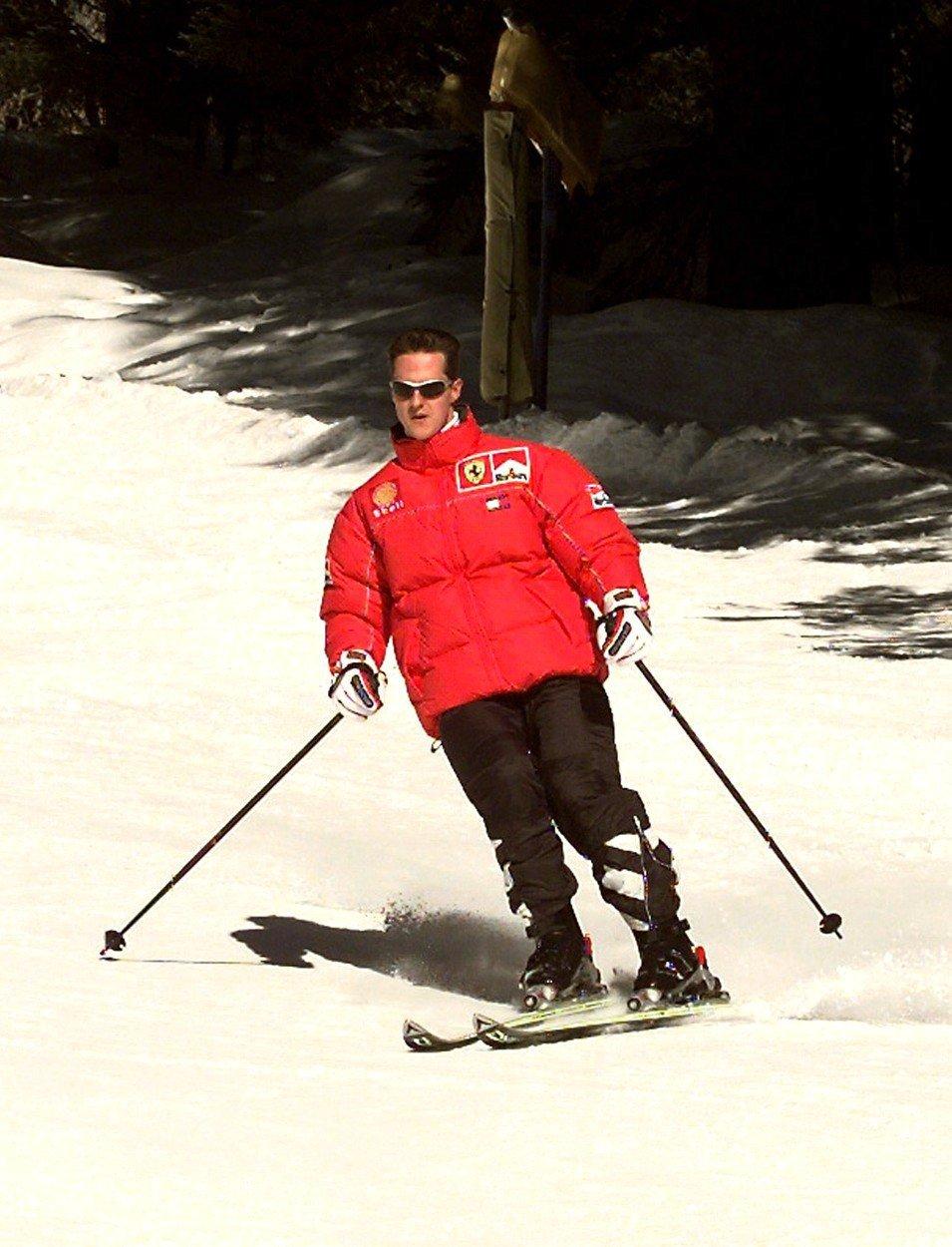 Michael Schumacher velmi rád lyžoval, jeho vášeň se mu ale stala osudnou...