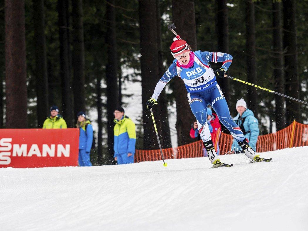 Veronika Vítková zajela nejlepší závod v sezoně