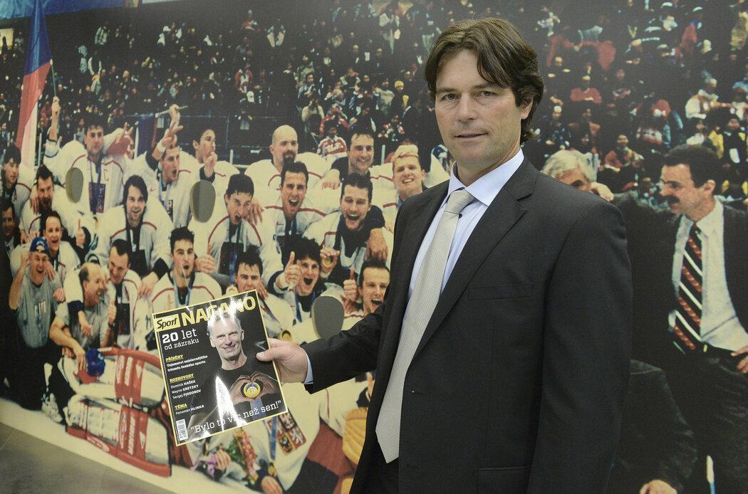 Robert Lang se speciálním magazínem Sportu Nagano: 20 let od zázraku