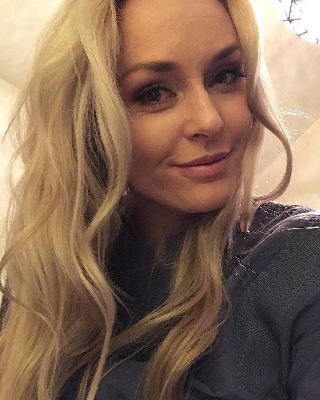 Lindsey Vonn (33), lyžařka