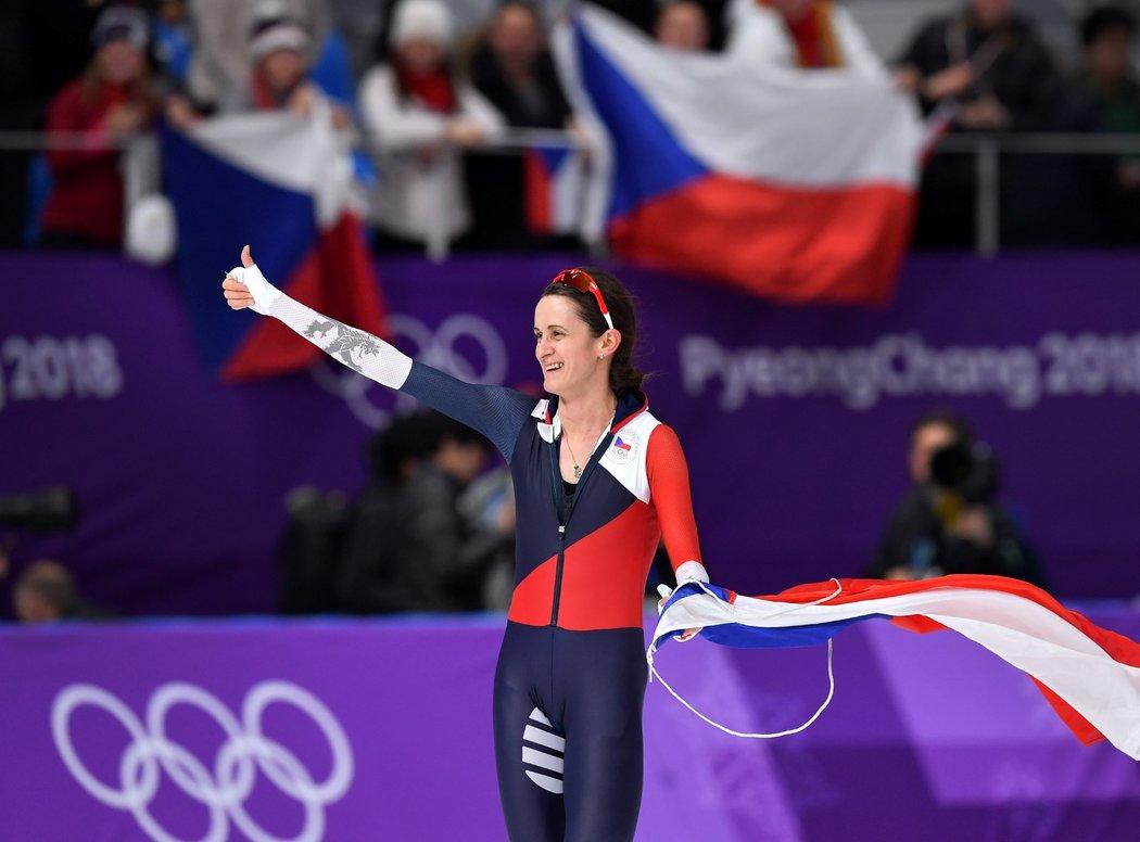 Cestu za šestou medailí ze ZOH nezastavily ani zdravotní problémy