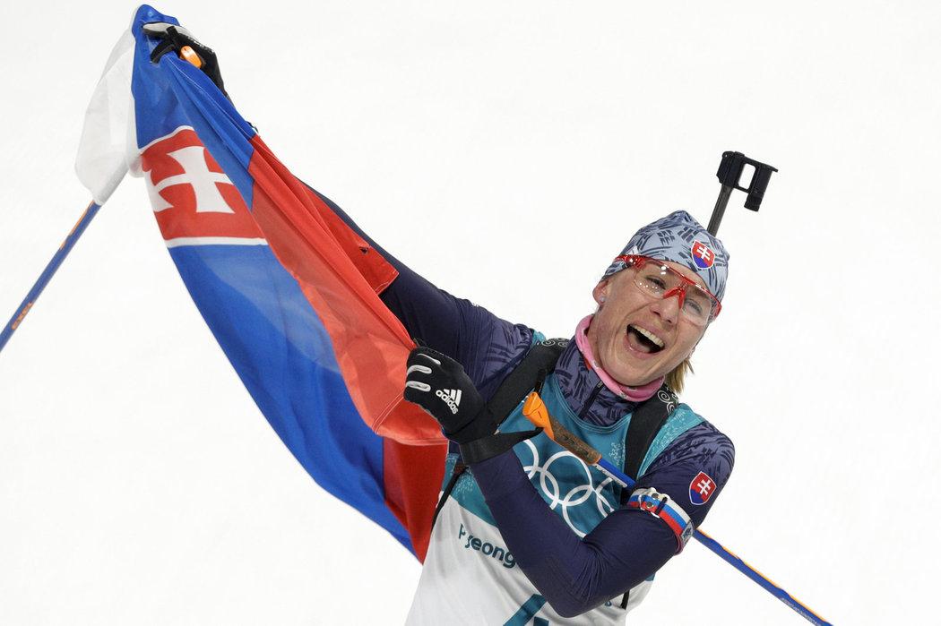 Anastasia Kuzminová slaví první místo