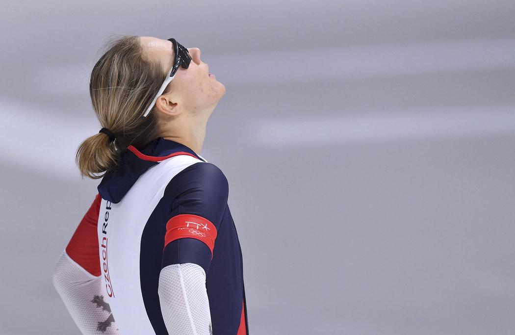 Karolína Erbanová po zisku bronzové medaile