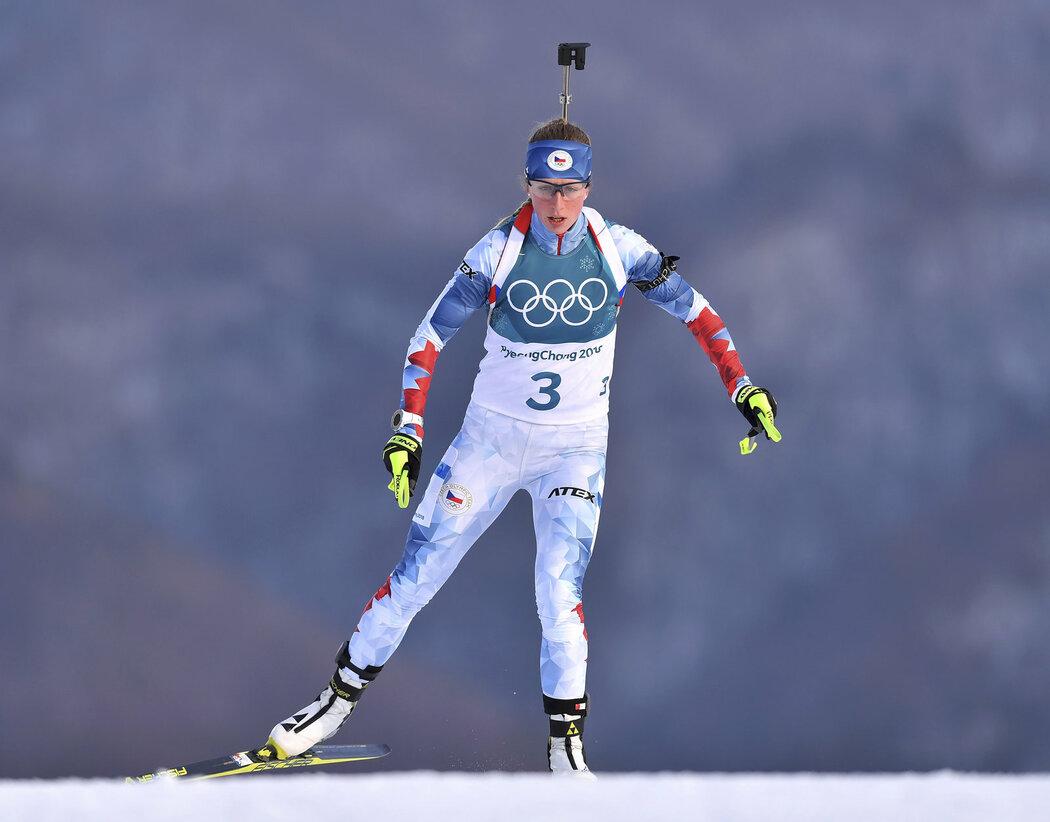 Jessica Jislová bojuje na olympijských tratích