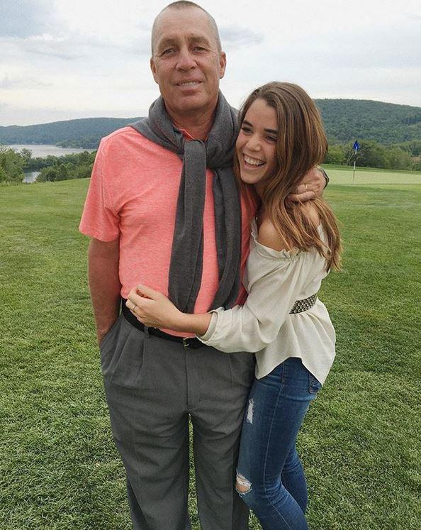 Lendl s dcerou Nikolou.