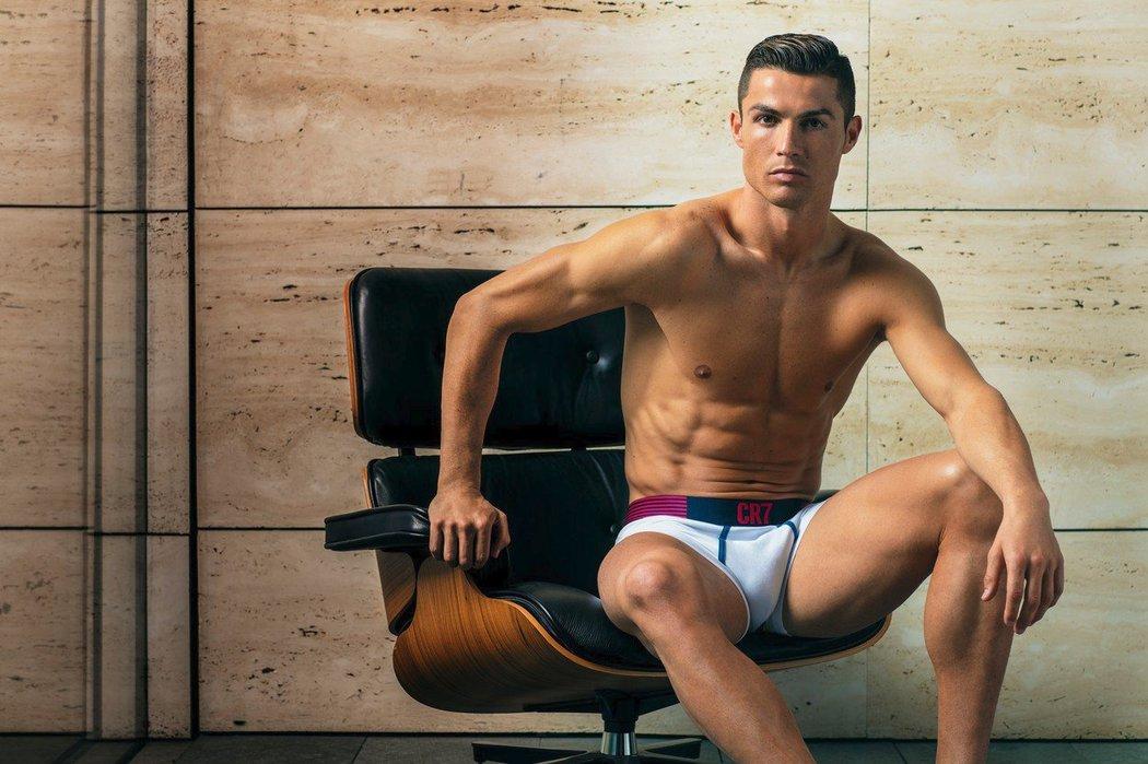 Ronaldo rozjel svoji další reklamní kampaň.