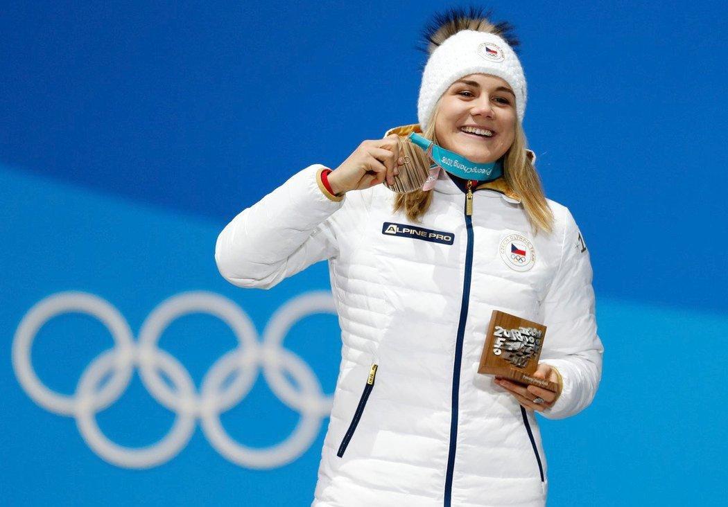 Karolína Erbanová a její bronzová radost v Pchjongčchangu
