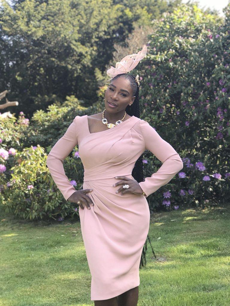 A takhle vypadala Serena po všech přípravách
