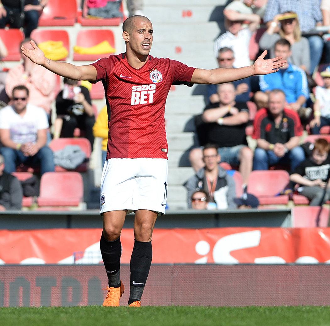 Tal Ben Chaim přihrál proti Olomouci na vítězný gól, ale jinak byl jeho výkon slabší