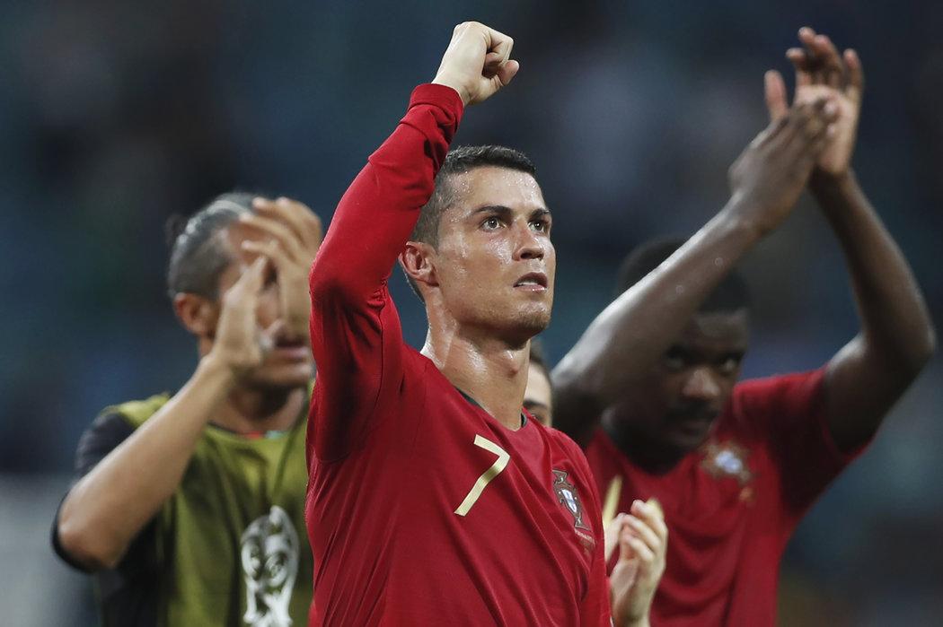 Další neuvěřitelný výkon Cristiana Ronalda - dal hattrick proti Španělsku