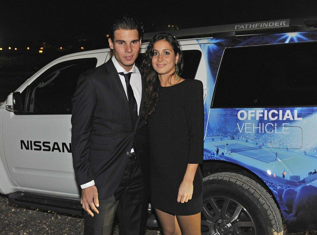 Rafael Nadal s přítelkyní Marií Francescou Perellovou