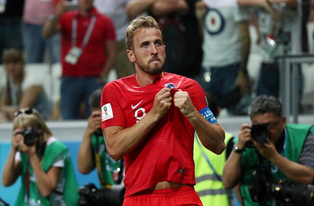 Harry Kane vstřelil dvě branky proti Tunisku a zařídil anglickou výhru