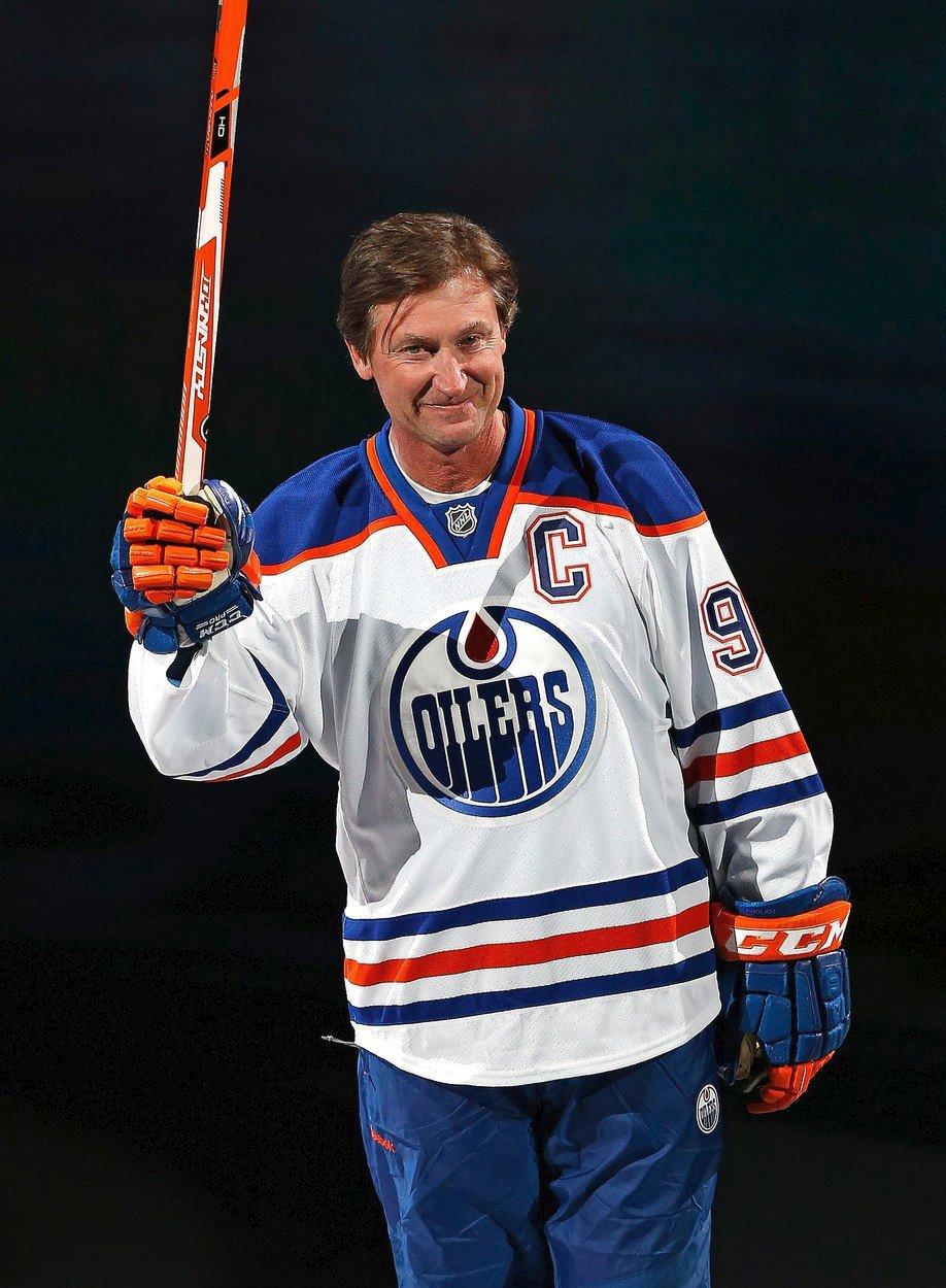 Wayne Gretzky se i po kariéře dočkává v Edmontonu velkého ohlasu