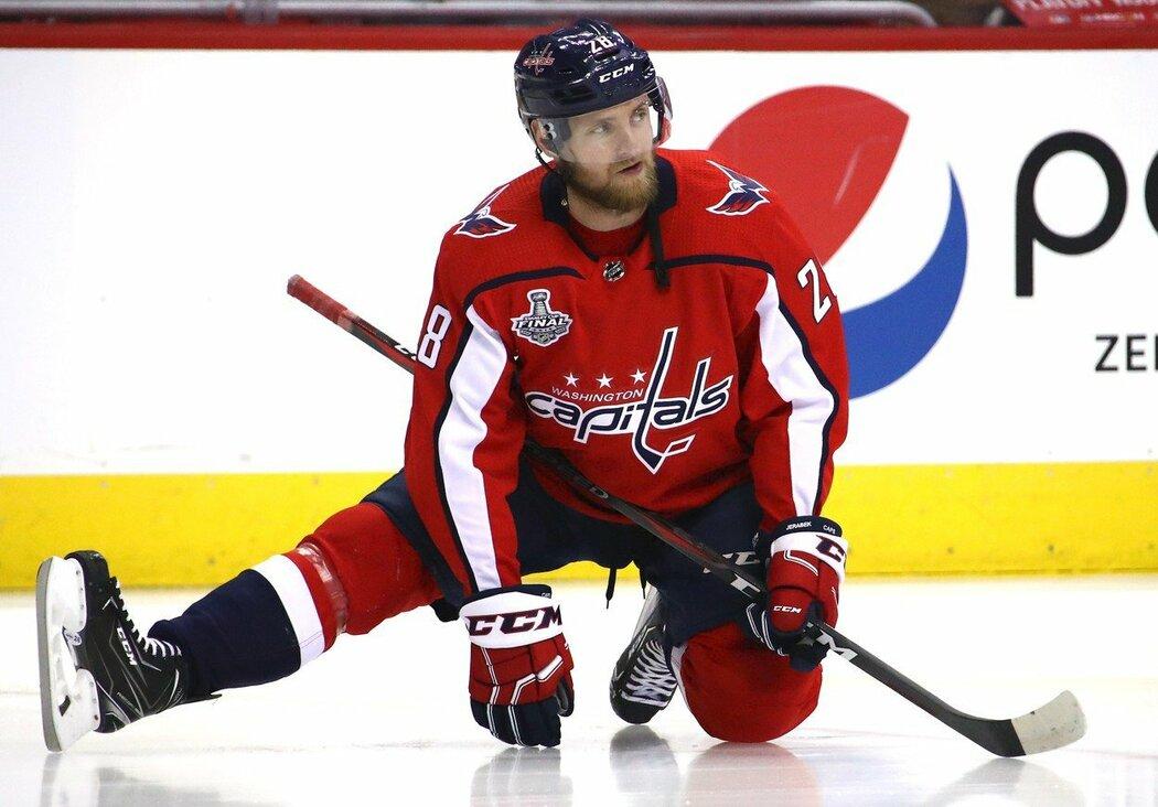 Jakub Jeřábek uzavřel první sezonu v NHL v barvách Washingtonu