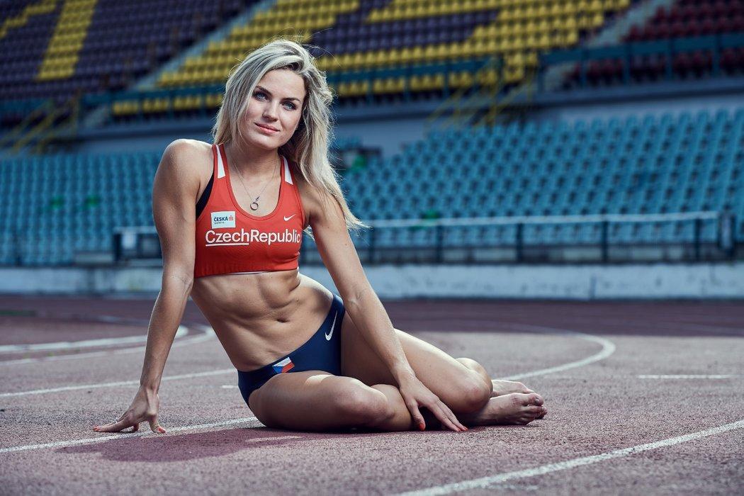 Jednadvacetiletá Zdeňka Seidlová patří mezi nejtalentovanější a nejkrásnější české sportovkyně