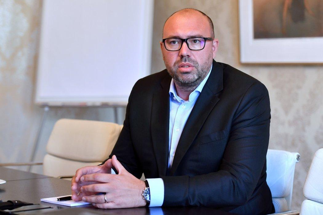 Generální ředitel František Čupr je ve Spartě nyní mužem číslo 1, majitel Daniel Křetínský na něj hodně sází