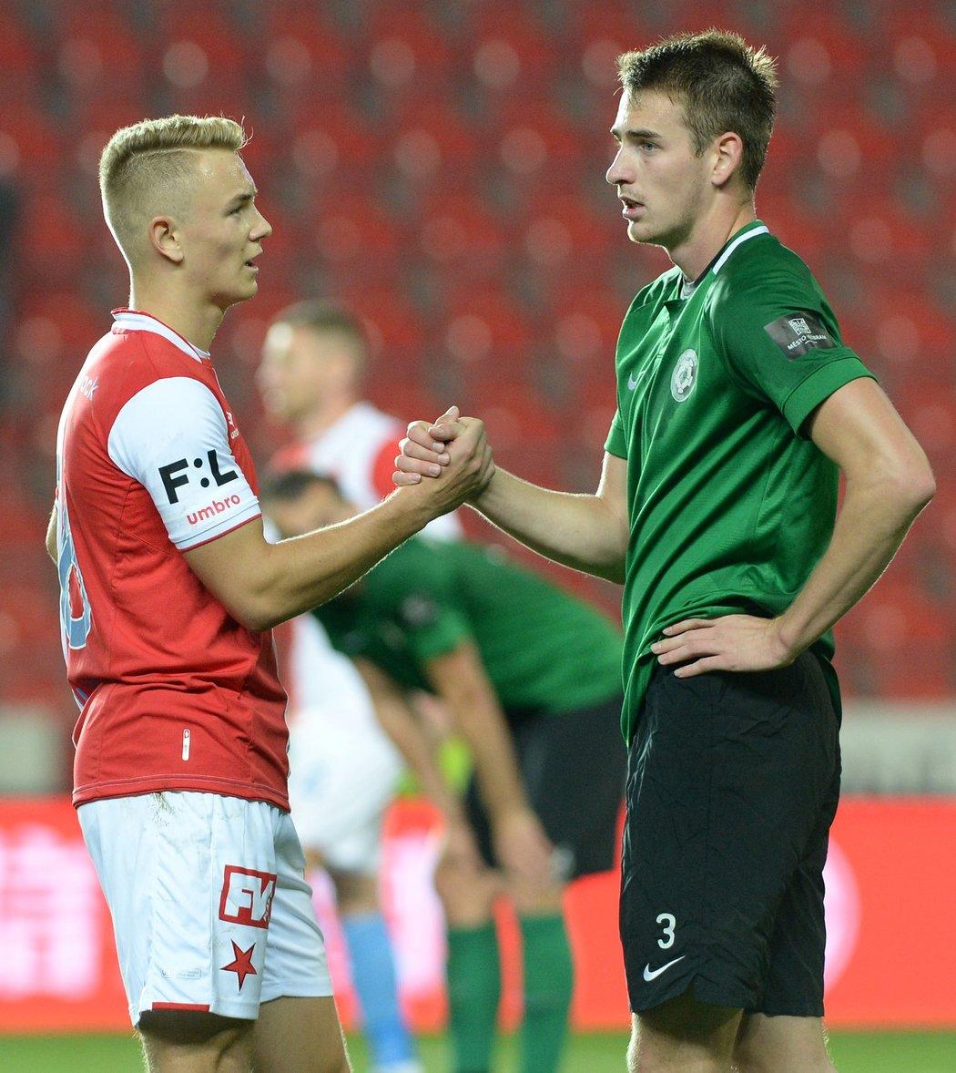 Jan Matoušek se proti svému bývalému týmu neprosadil, po zápase si ale měl co říct například s Romanem Květem