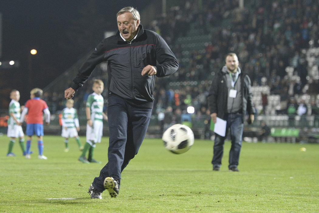 Antonín Panenka v Ďolíčku zavzpomínal na svou slavnou penaltu