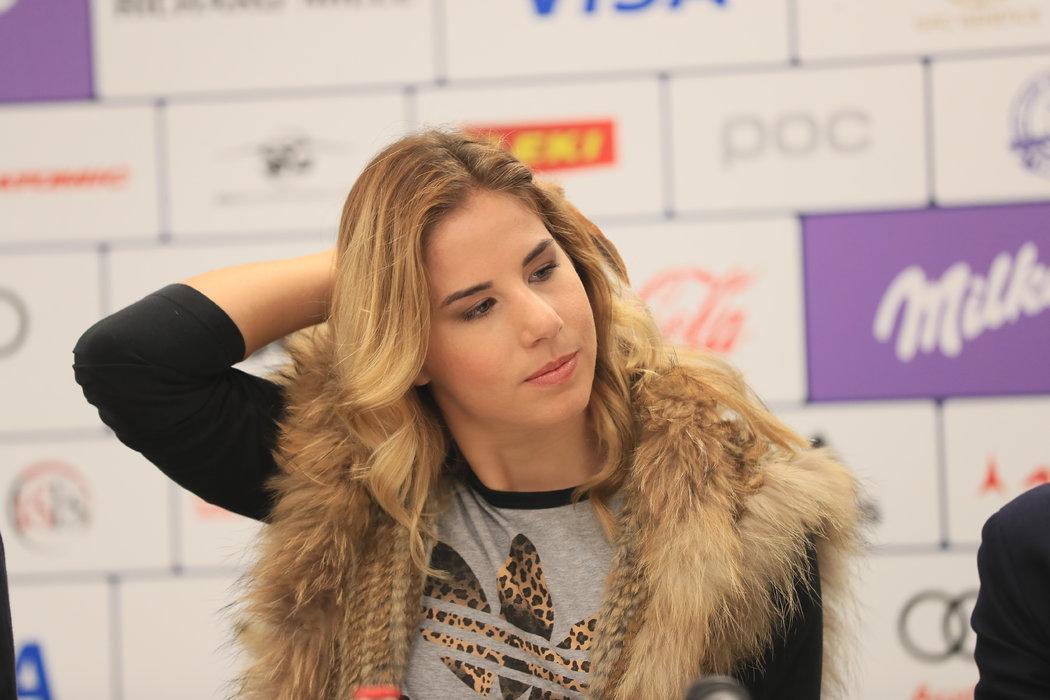 Ester Ledecká představila plány na další sezonu