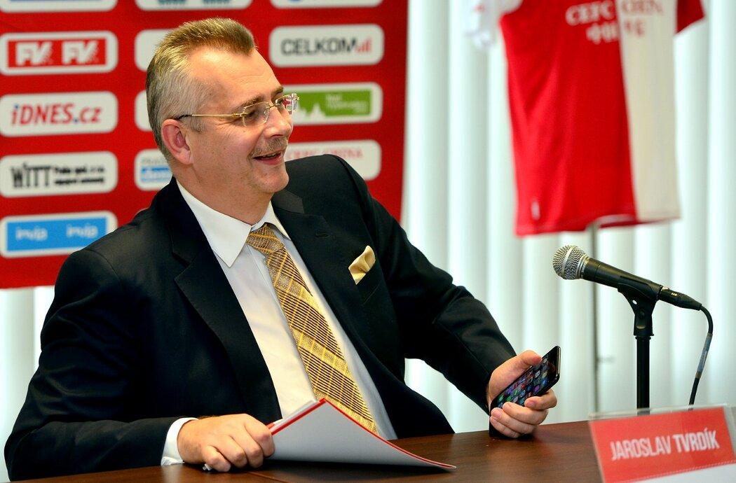 """Slavia v minulém roce přešla pod státní konglomerát CITIC Group, Jaroslav Tvrdík tak přežil """"klinickou smrt"""""""