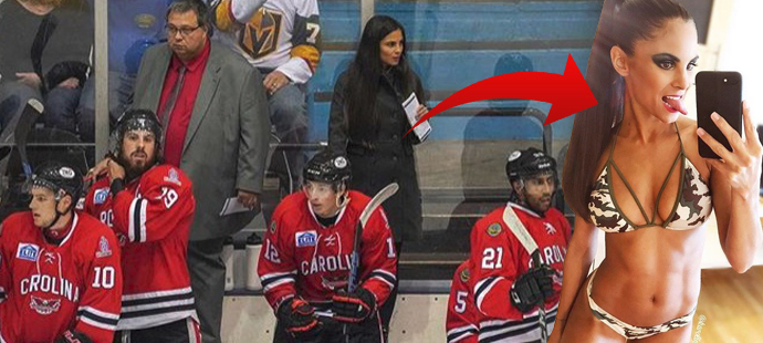Je krásná a navíc úspěšná. Karolína Huvarová je první Evropankou, která v americké Carolině koučuje hokejové profíky.