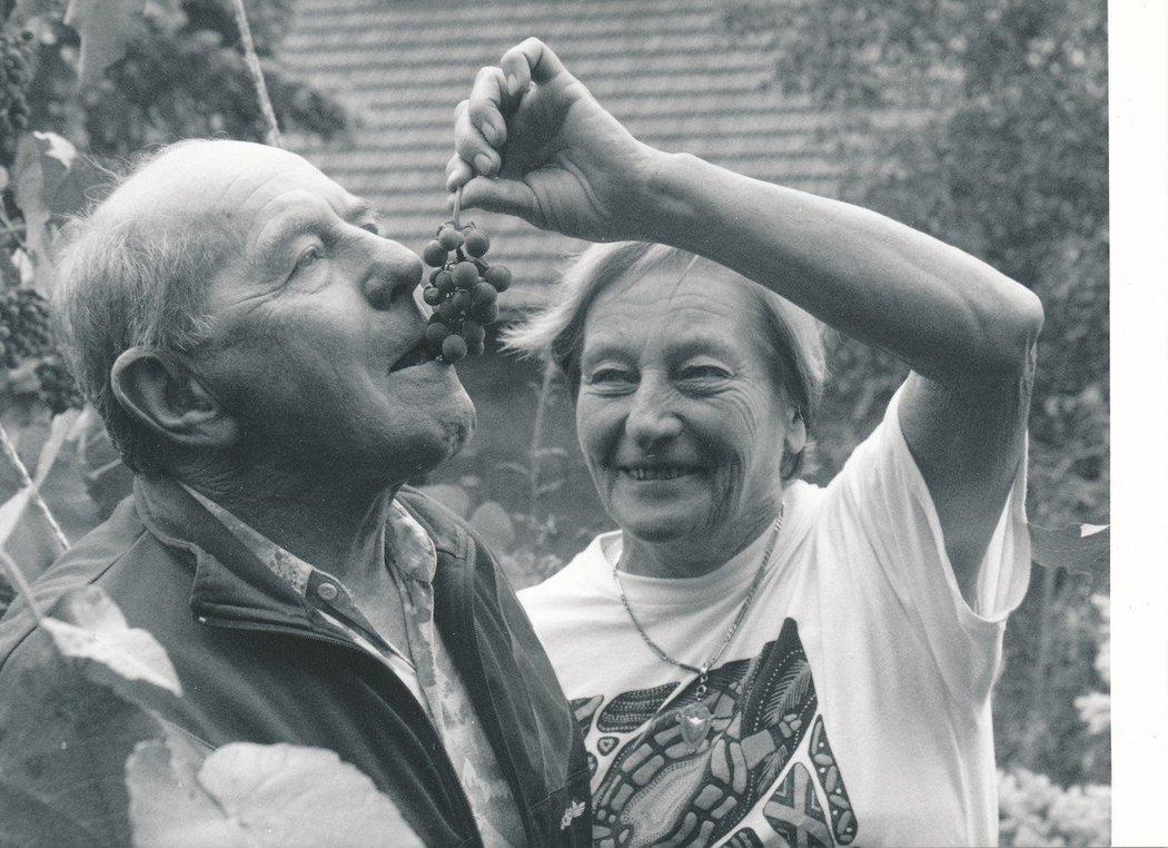 I když se občas objevily mráčky, Emil Zátopek s Danou spolu prožili celý život...