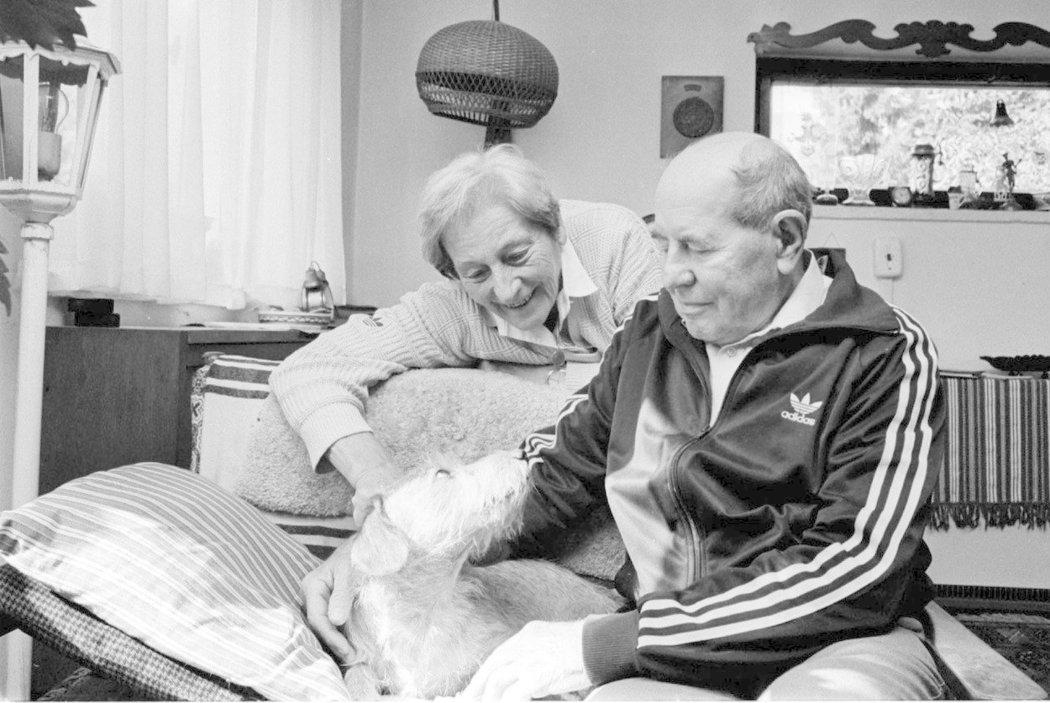 Dana Zátopková s Emilem prožila bohatý život, starali se spolu třeba o psy