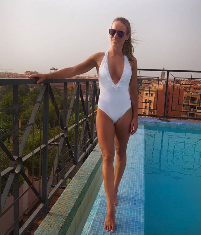 Paulína Fialková na dovolené v Maroku